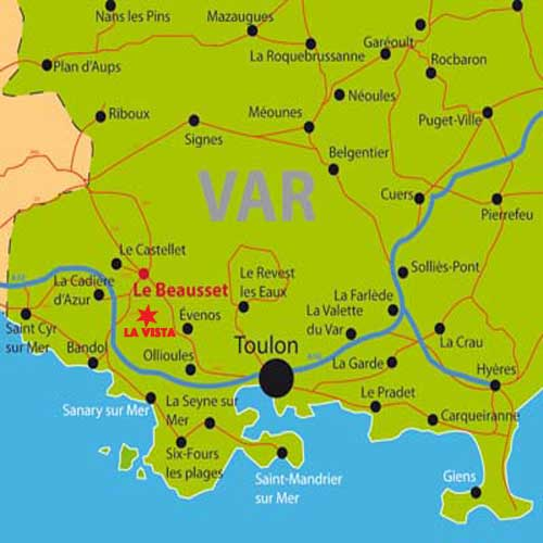 Location de vacances le beausset var bandol - Bandol office du tourisme ...