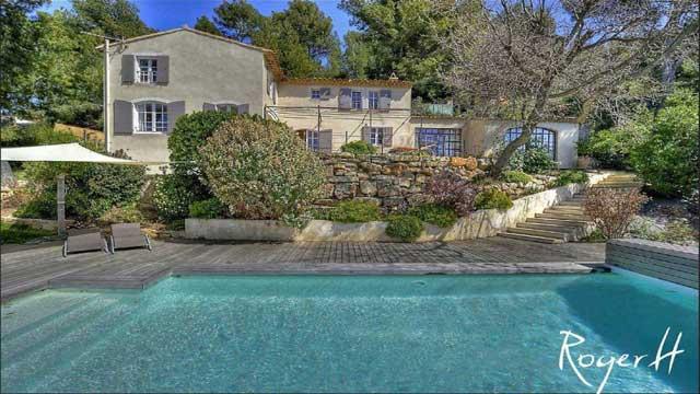 La villa Vista Le Beausset