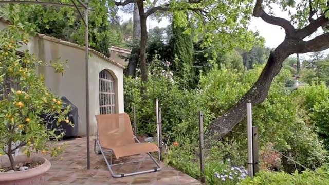 Un havre de paix pour profiter de la verdure et des paysages du Var...